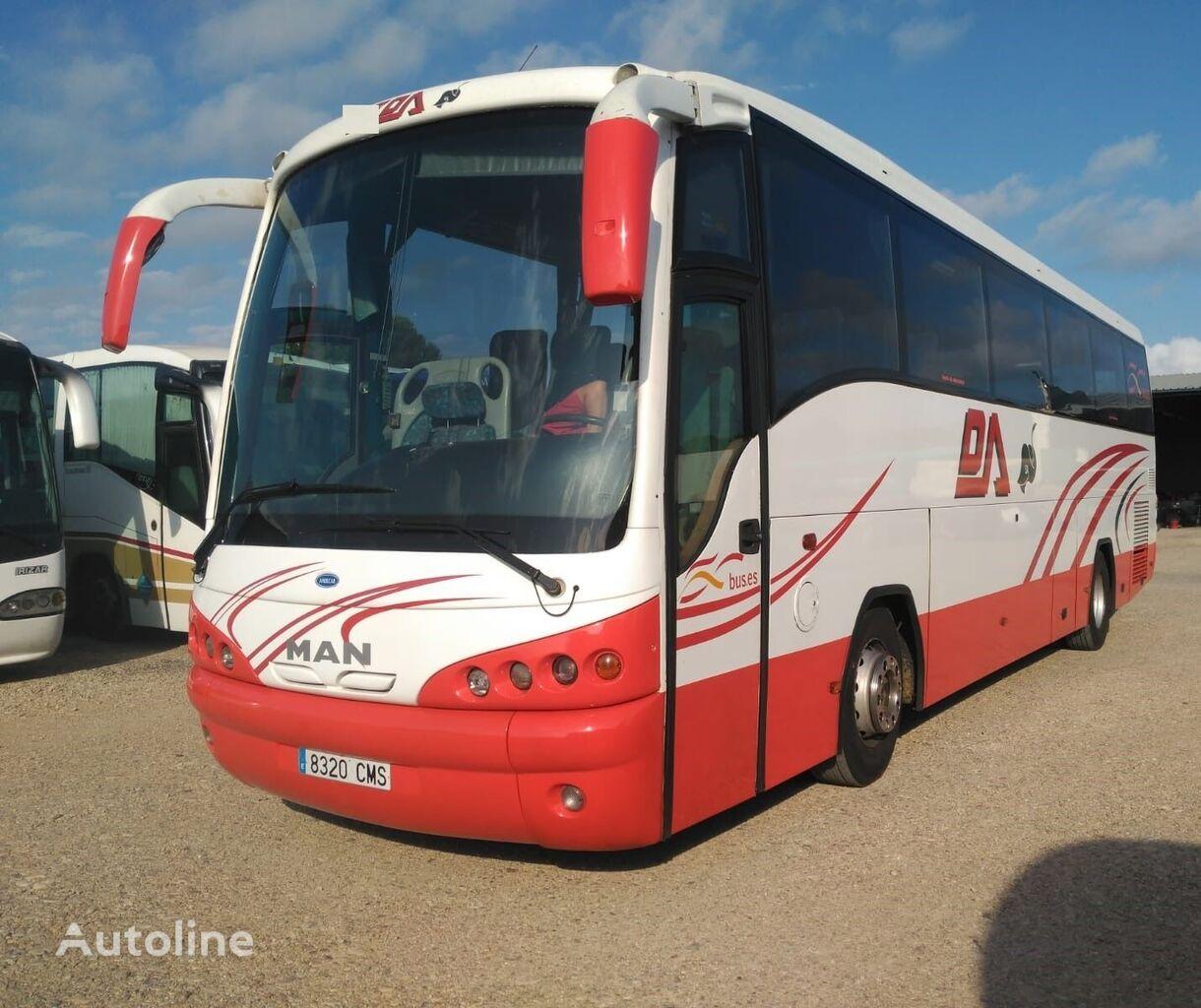 autokar turystyczny MAN 18.410 HOCL ANDECAR+12METROS+57 PAC(EURO 3)