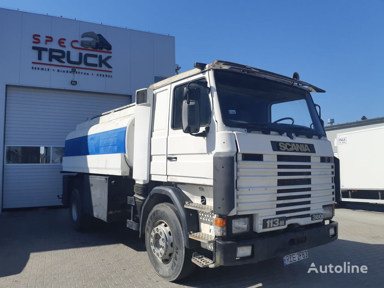autocysterna SCANIA 113.360, Full Steel, 14000L, Manual
