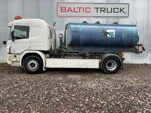 autocysterna SCANIA P94-300, 4x2 HOOKLIFT + WATER TANK