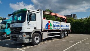 ciężarówka burtowa MERCEDES-BENZ Actros 2544 6x2 Pritsche  Kran Fassi F185