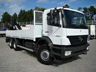 ciężarówka burtowa MERCEDES-BENZ Axor 2633 6x4 Darus