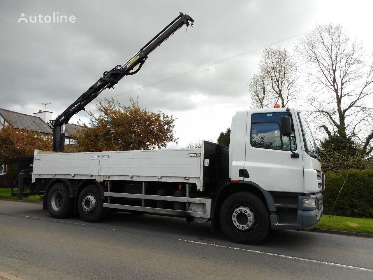 ciężarówka burtowa DAF CF 75 310