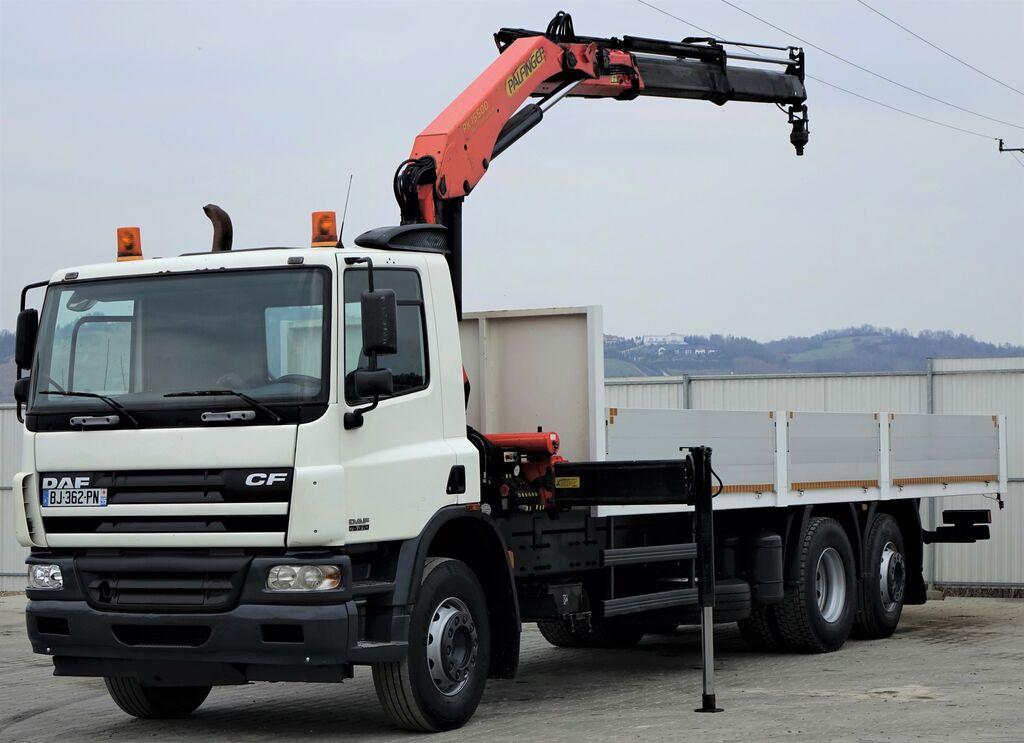 ciężarówka burtowa DAF CF 75.310