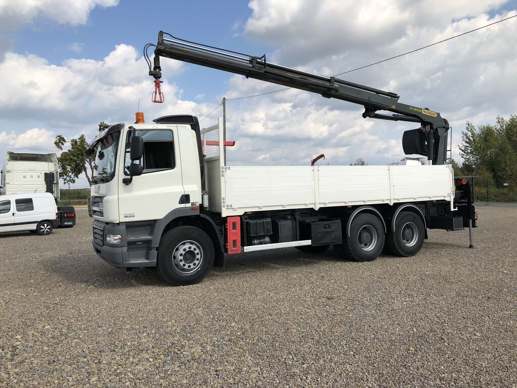 ciężarówka burtowa DAF CF 85