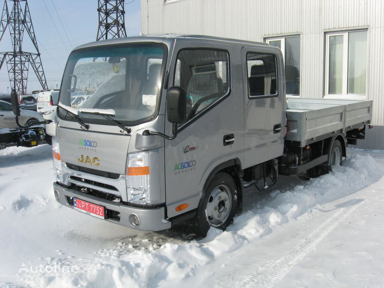 ciężarówka burtowa JAC N56