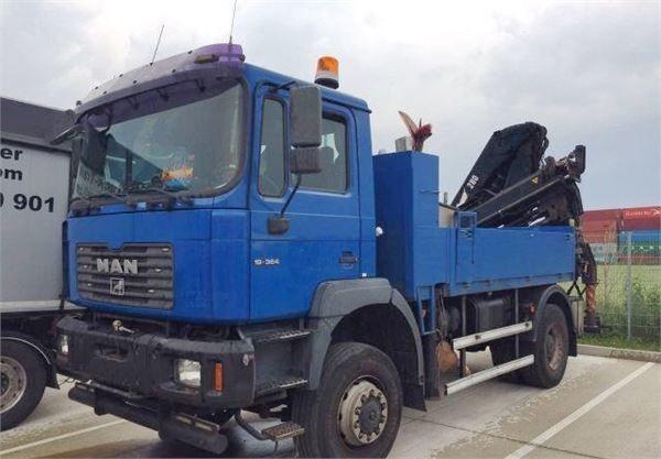 ciężarówka burtowa MAN 19.364