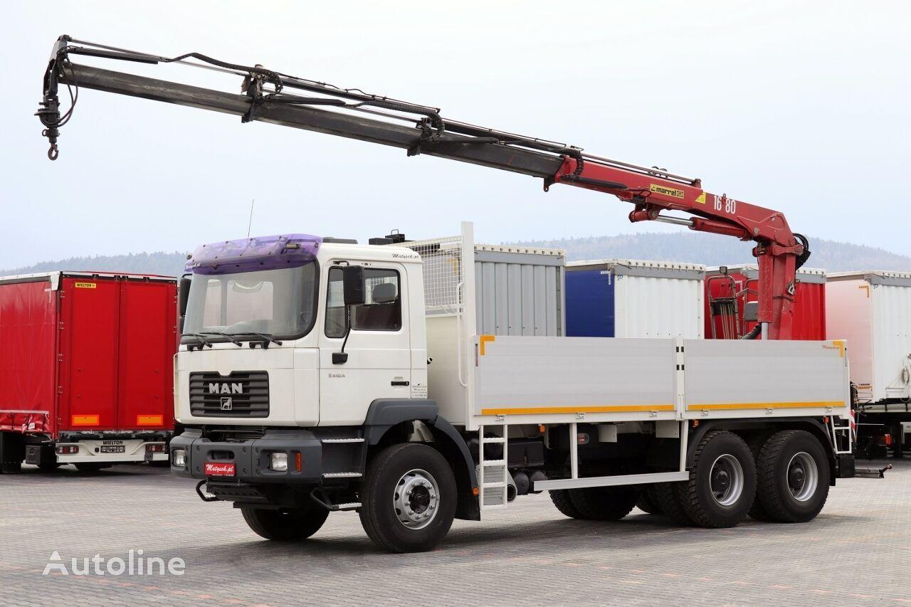 ciężarówka burtowa MAN TGA 33.310