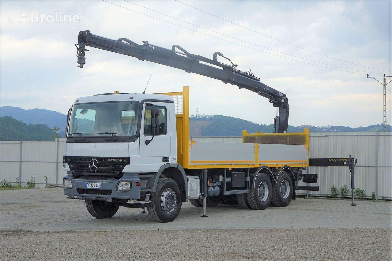 ciężarówka burtowa MERCEDES-BENZ Actros 2641 Pritsche 6,60m+ Kran*6x4*