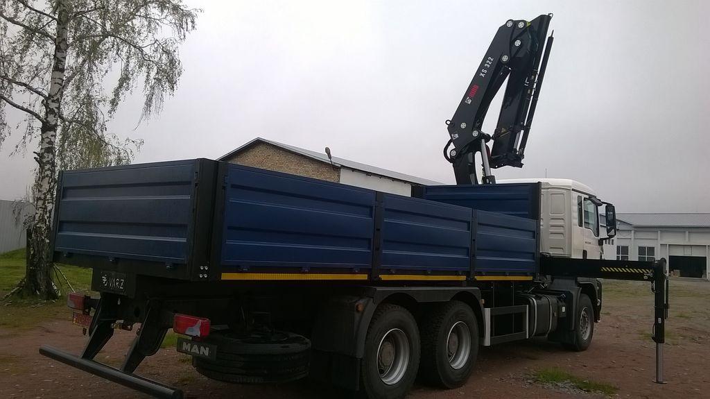nowa ciężarówka burtowa MERCEDES-BENZ Actros 3 3336 AK