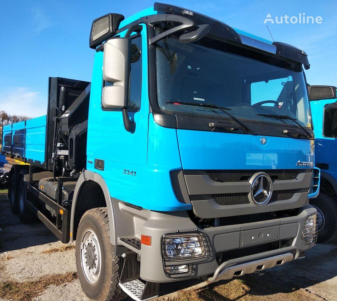 nowa ciężarówka burtowa MERCEDES-BENZ Actros 3 3341