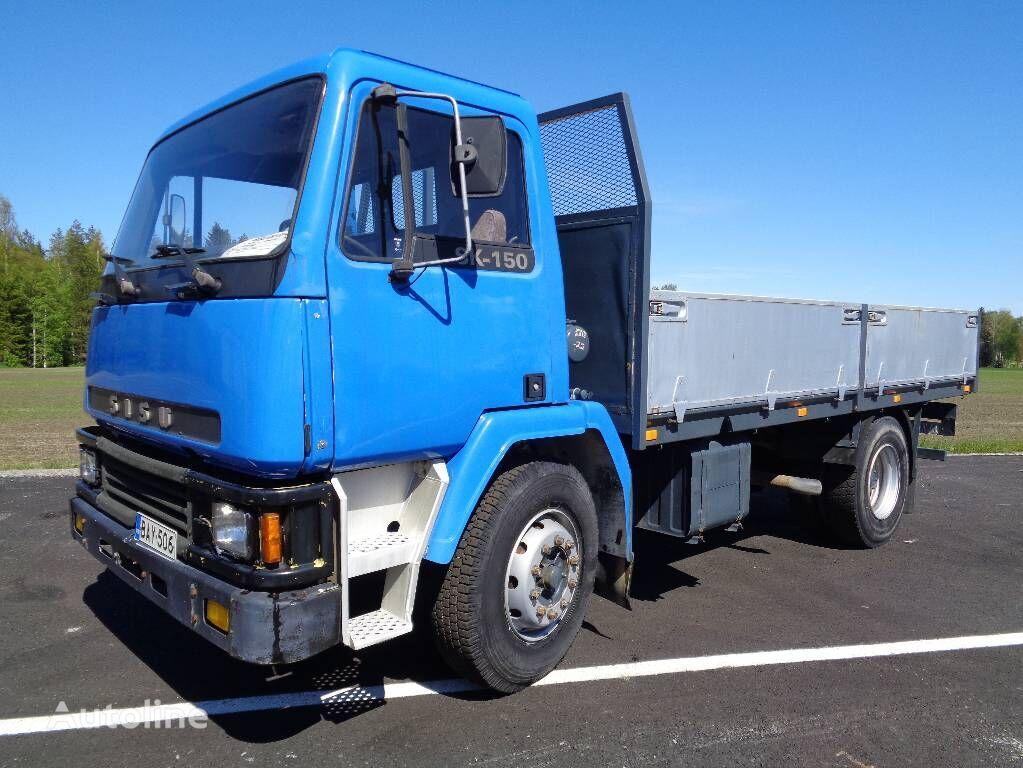 ciężarówka burtowa SISU SK150