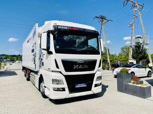 ciężarówka chłodnia MAN TGX 26.400 chłodnia 22EP multitemperatura 6x2 , Perfekcyjny !