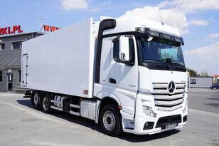 ciężarówka chłodnia MERCEDES-BENZ Actros 2545 , E6 , 6X2 , 18 EPAL , heigh 2,6m , side door , reta