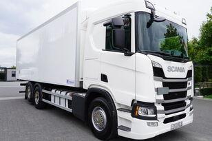 ciężarówka chłodnia SCANIA SCANIA R500, Euro 6, 6x2, 19 EPAL refrigerator , lifting axle, N