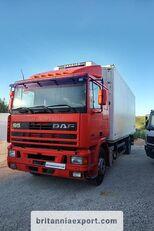 ciężarówka chłodnia DAF 95 360 ATI left hand drive ZF manual pump 19 ton