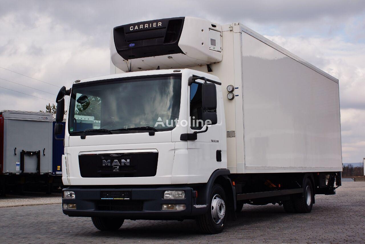ciężarówka chłodnia MAN TGL 12.210 CARRIER SUPRA MANUAL PERFECT GERMAN TRUCK LBW PALFING