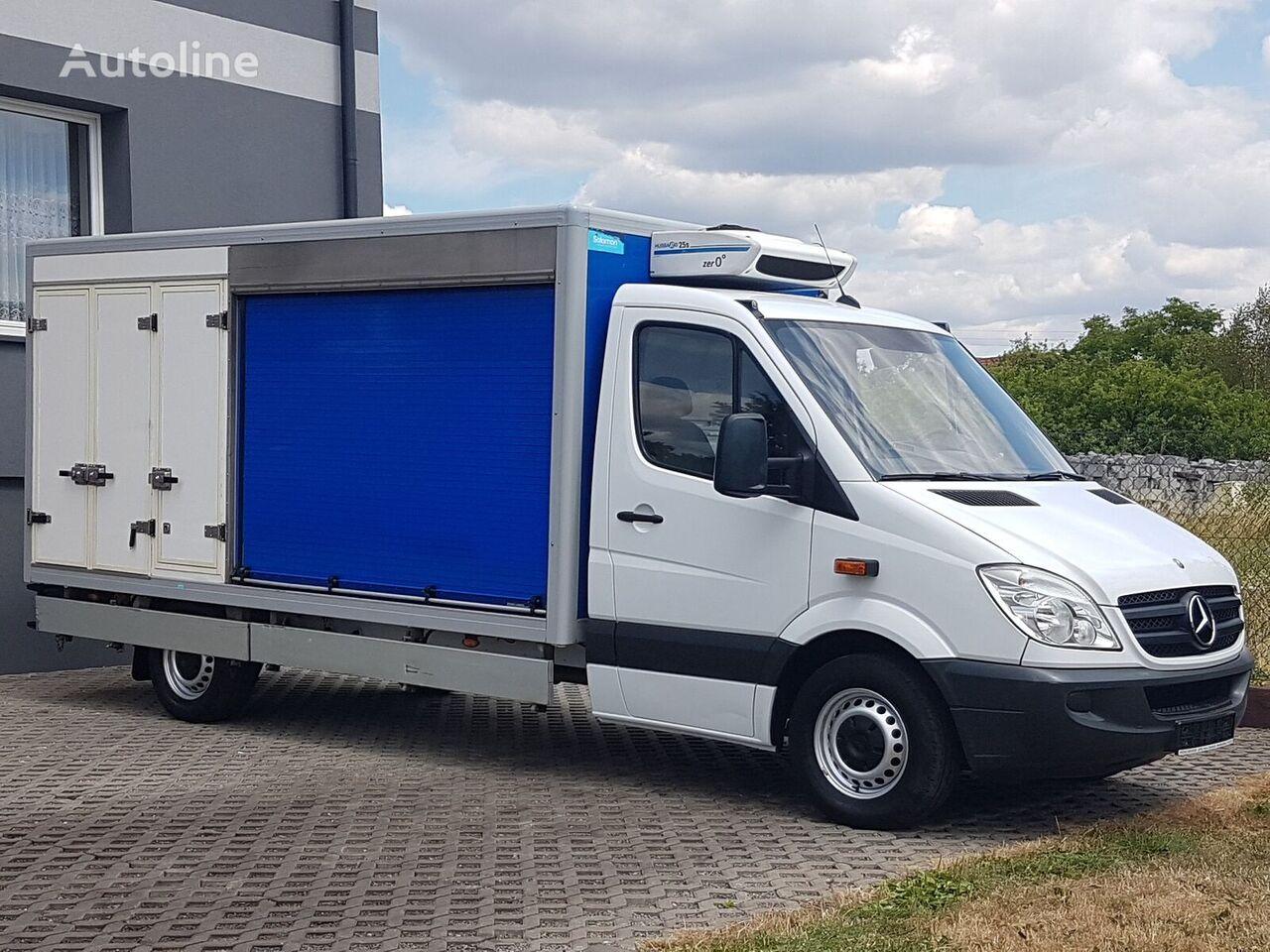 ciężarówka chłodnia MERCEDES-BENZ SPRINTER 3 KOMORY CHŁODNIA MROŹNIA IZOTERMA 313 CDI AGREGAT