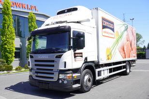 ciężarówka chłodnia SCANIA P 280 , E5 , Meat hooks , 18 EPAL , tail lift 1500 kg