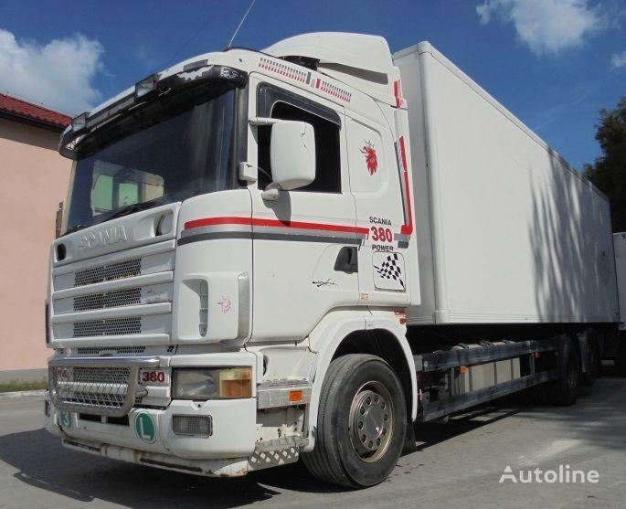 ciężarówka chłodnia SCANIA R114 380