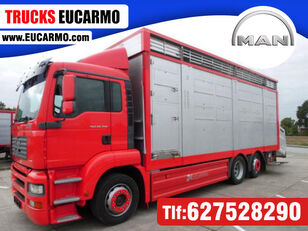 ciężarówka do przewozu bydła MAN TGA 26 350
