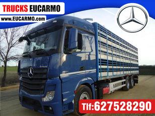 ciężarówka do przewozu bydła MERCEDES-BENZ ACTROS 2545