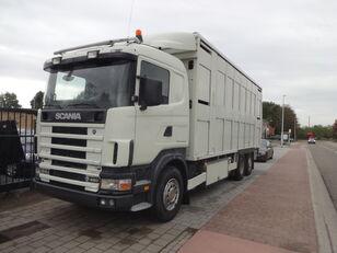 ciężarówka do przewozu bydła SCANIA 164G 480
