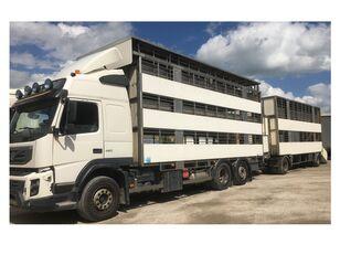 ciężarówka do przewozu bydła VOLVO FMX 460