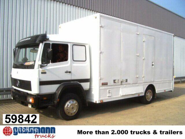 ciężarówka do przewozu bydła MERCEDES-BENZ L / 1117 / NSW