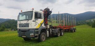ciężarówka do przewozu drewna MAN TGA 33.430 6x6 + NACZEPA