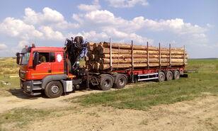 ciężarówka do przewozu drewna MAN TGS 26.480 6x4 BB