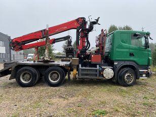 ciężarówka do przewozu drewna SCANIA R500 V8 6x4 Euro5 EPSILON 300