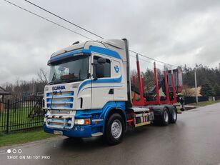 ciężarówka do przewozu drewna SCANIA R560 6x4 do drewna drzewa lasu HDS