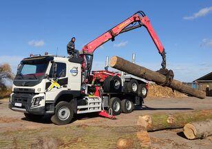 ciężarówka do przewozu drewna VOLVO FMX 540 6X4 FAYMONVILLE PALFINGER EPSILON