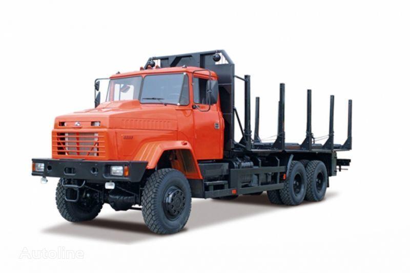 ciężarówka do przewozu drewna KRAZ 6233M6