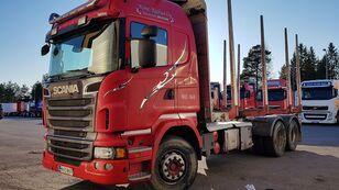 ciężarówka do przewozu drewna SCANIA R560 6x4