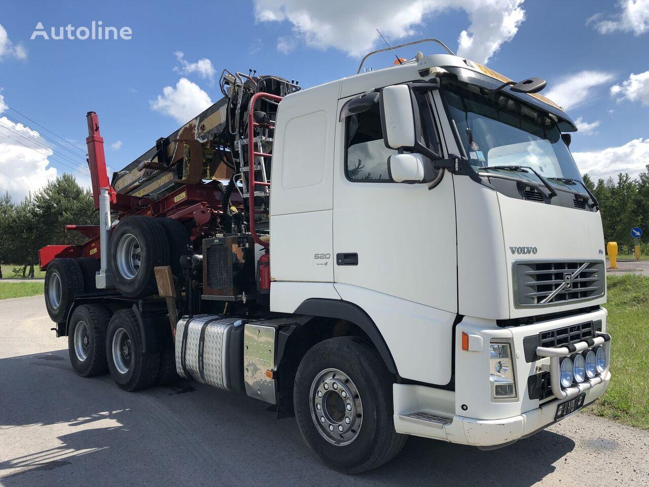ciężarówka do przewozu drewna VOLVO FH 13 Dzwig Diebolt do Drewna Sprowadzony