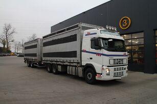 ciężarówka do przewozu drobiu VOLVO FH12.480 6x4 + przyczepa furgon