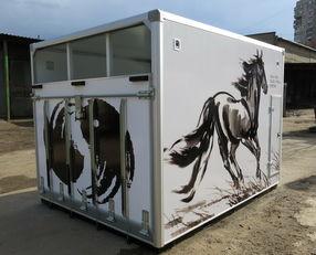 nowa ciężarówka do przewozu koni ИСТОК