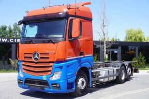ciężarówka do przewozu kontenerów MERCEDES-BENZ Actros 2542 , E6 , 6X2 , BDF , chassis 7,2m , retarder , 2 beds