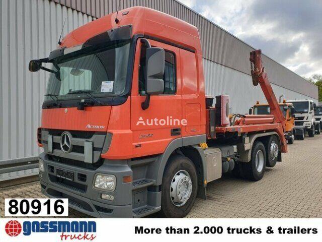 ciężarówka do przewozu kontenerów MERCEDES-BENZ Actros 2544 L ADR