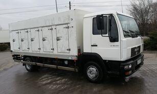 ciężarówka do przewozu lodów MAN le 10.180