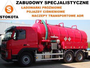 nowa ciężarówka do przewozu mas bitumicznych VOLVO ADR oleje przepracowane