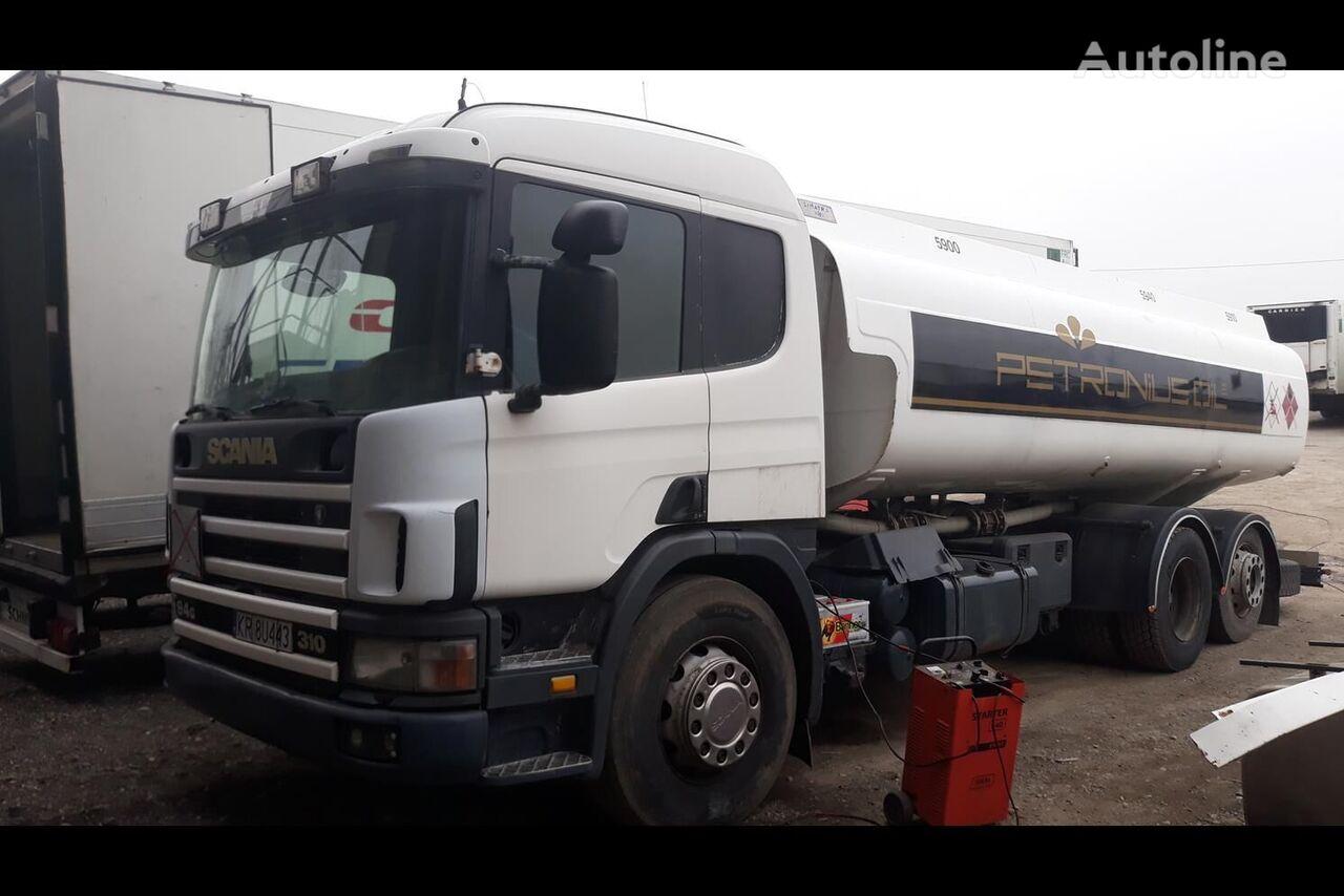 ciężarówka do przewozu paliw SCANIA P94