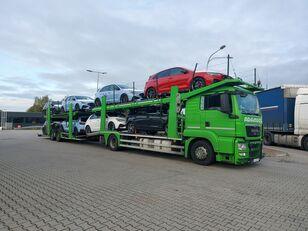 ciężarówka do przewozu samochodów MAN TGS