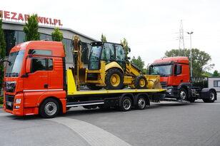 ciężarówka do przewozu samochodów MAN TGX 26.440 XXL , E6 , 6X2 , NEW BODY 7,5m , hydraulic , 2x winch