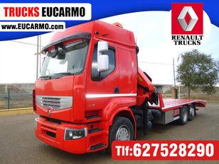 ciężarówka do przewozu samochodów RENAULT PREMIUM 460