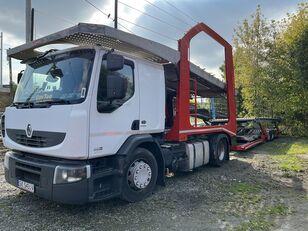 ciężarówka do przewozu samochodów RENAULT Premium 460 EEV + przyczepa do przewozu samochodów