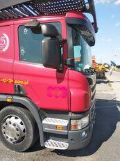 ciężarówka do przewozu samochodów SCANIA P360 + przyczepa do przewozu samochodów
