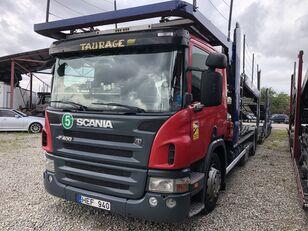 ciężarówka do przewozu samochodów SCANIA P400