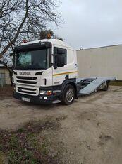 ciężarówka do przewozu samochodów SCANIA P400 ASSISTANCE TRUCKS TRANSPORT